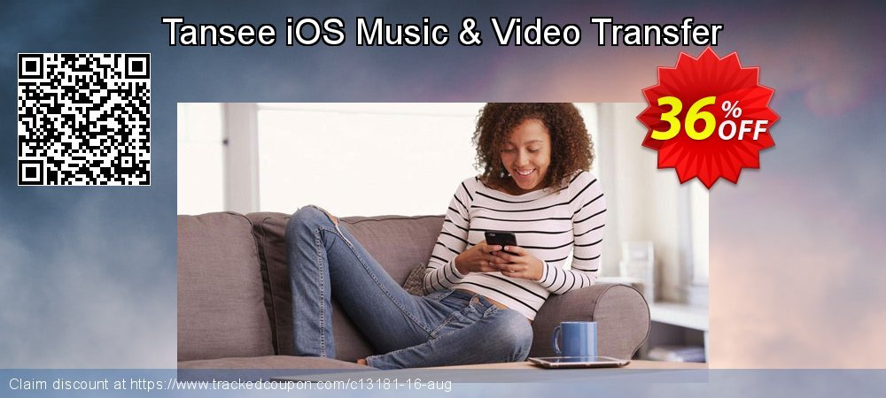 Tansee iOS Music & Video Transfer coupon on New Year offer