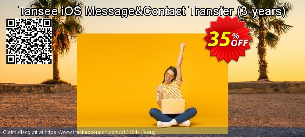 Tansee iOS Message&Contact Transfer - 3-years  coupon on Easter discounts