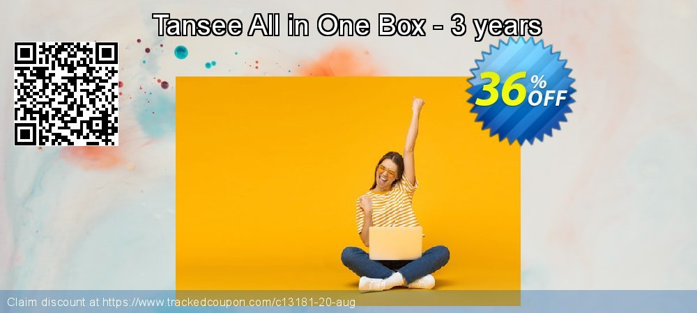 Get 35% OFF Tansee All in One Box - 3 years sales