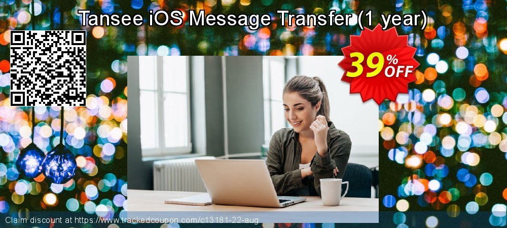 Tansee iOS Message Transfer - 1 year  coupon on Happy New Year promotions