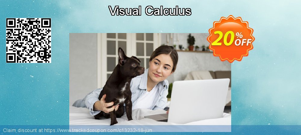 Get 20% OFF Visual Calculus offering sales
