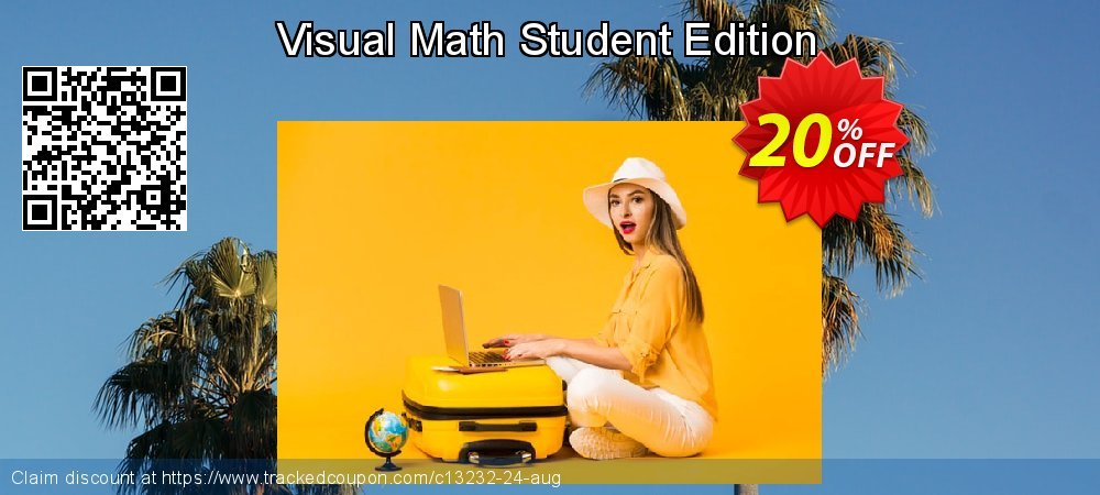 Get 20% OFF Visual Math Student Edition offering sales