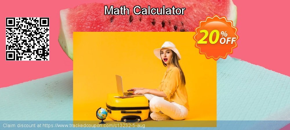 Get 20% OFF Math Calculator offering sales