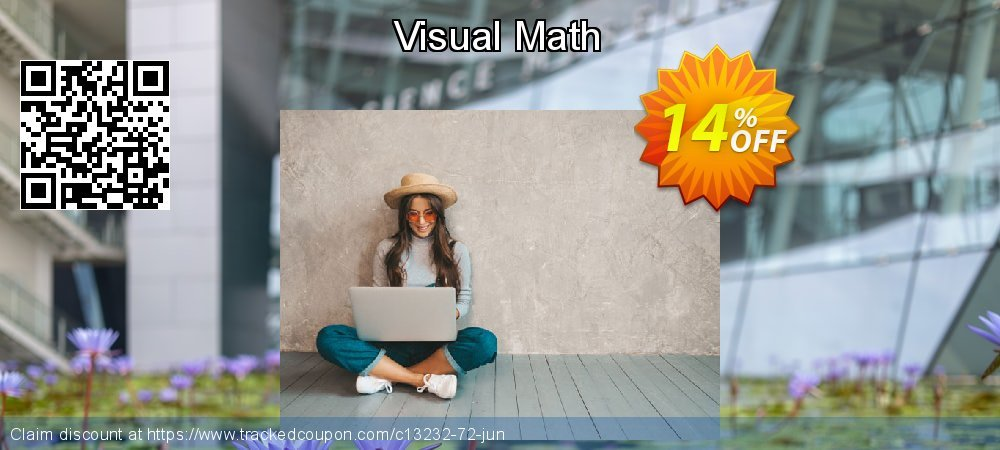 Get 14% OFF Visual Math offering discount