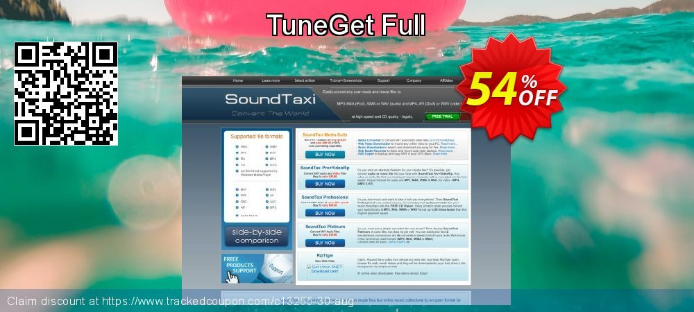 Get 51% OFF TuneGet Full discounts