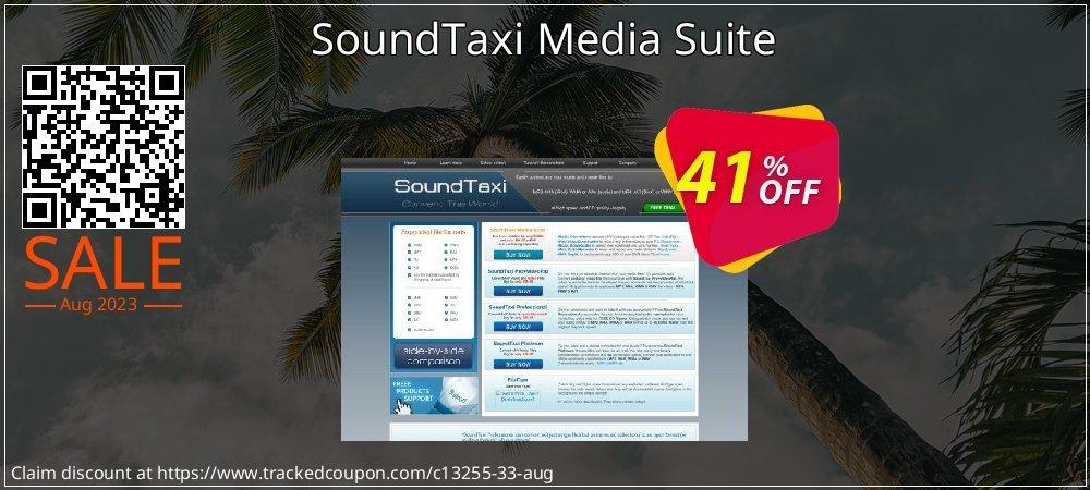 Get 40% OFF SoundTaxi Media Suite offering sales
