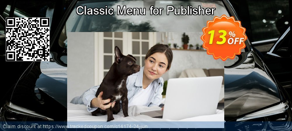 Get 10% OFF Classic Menu for Publisher offering sales