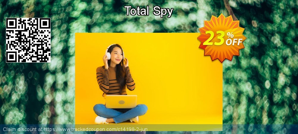 Get 20% OFF Total Spy discount