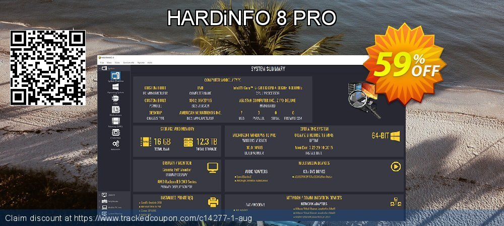 Get 59% OFF HARDiNFO 8 PRO offering deals