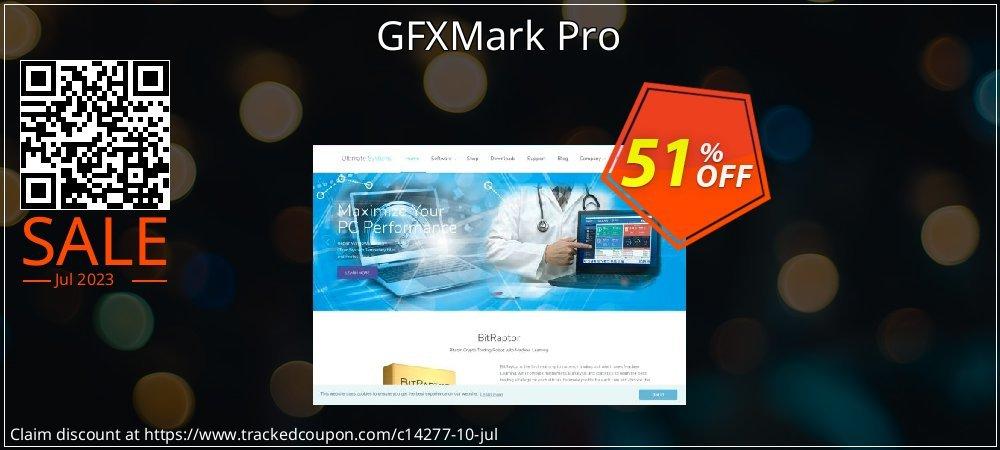 Get 50% OFF GFXMark Pro offering sales
