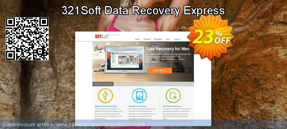 Get 20% OFF 321Soft Data Recovery Express offering sales