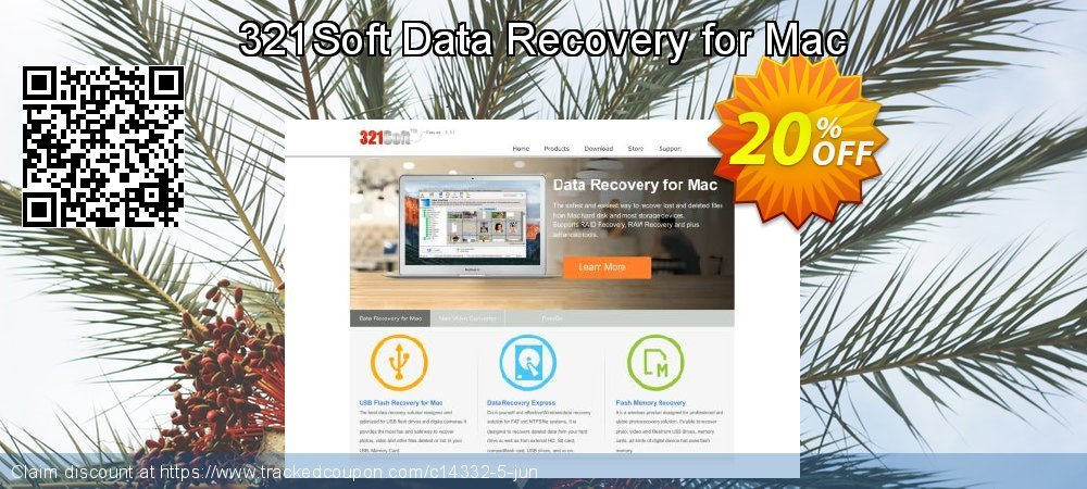 Claim 20% OFF 321Soft Data Recovery for Mac Coupon discount June, 2019