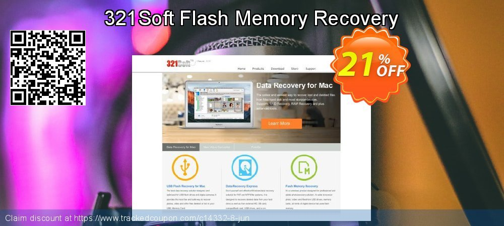 Get 20% OFF 321Soft Flash Memory Recovery promotions