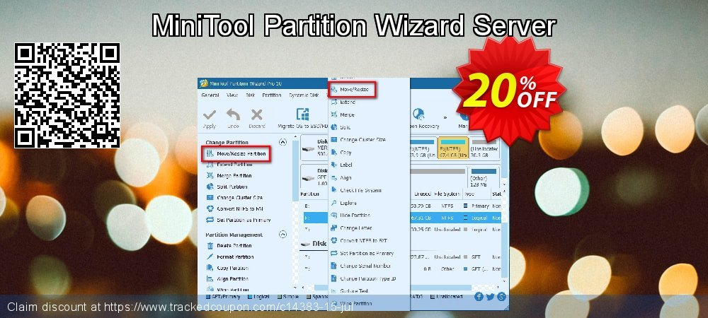 MiniTool Partition Wizard Server coupon on Mothers Day deals