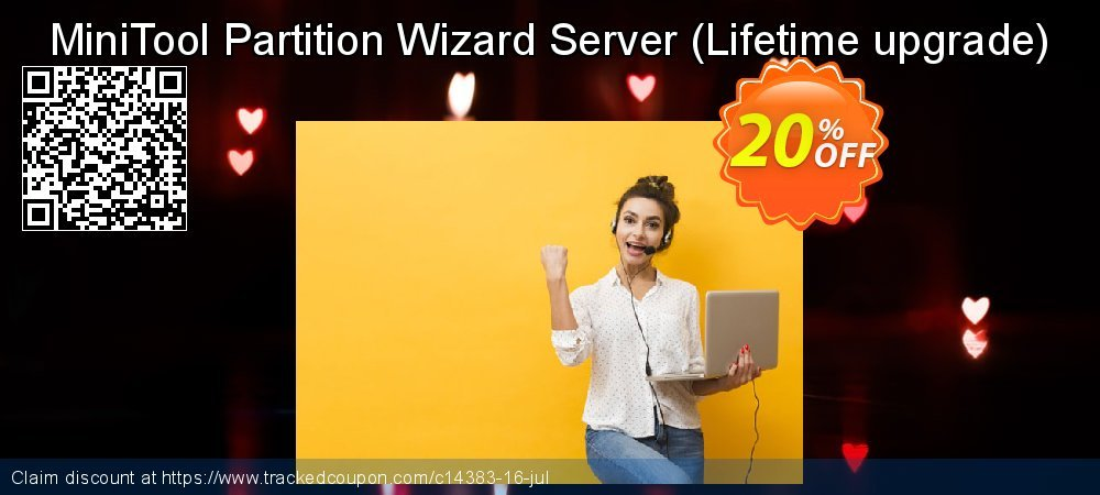 MiniTool Partition Wizard Server - Lifetime upgrade  coupon on Mom Day offer