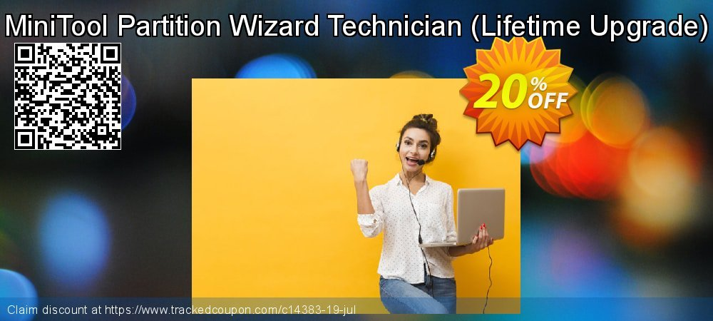 MiniTool Partition Wizard Technician - Lifetime Upgrade  coupon on Mothers Day offering sales