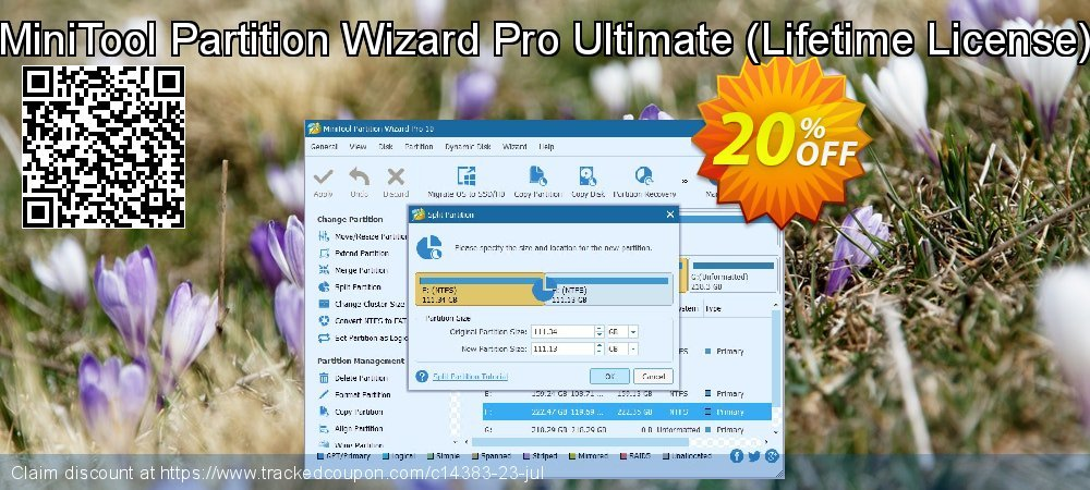 MiniTool Partition Wizard Pro Ultimate - Lifetime usage  coupon on Mothers Day sales