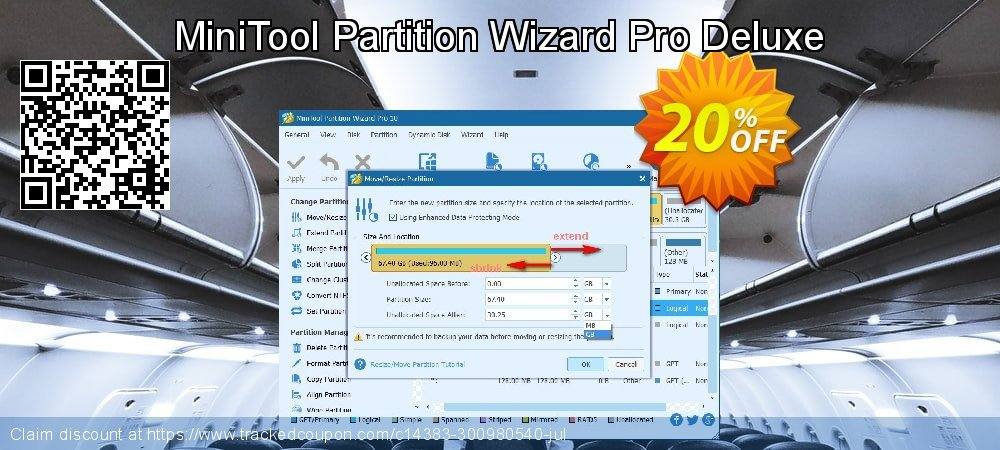 MiniTool Partition Wizard Pro Deluxe coupon on Mom Day super sale