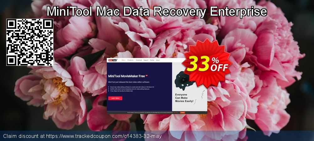 Claim 33% OFF MiniTool Mac Data Recovery Enterprise Coupon discount August, 2019