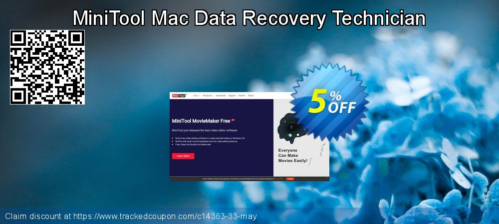 Claim 5% OFF MiniTool Mac Data Recovery Technician Coupon discount August, 2019