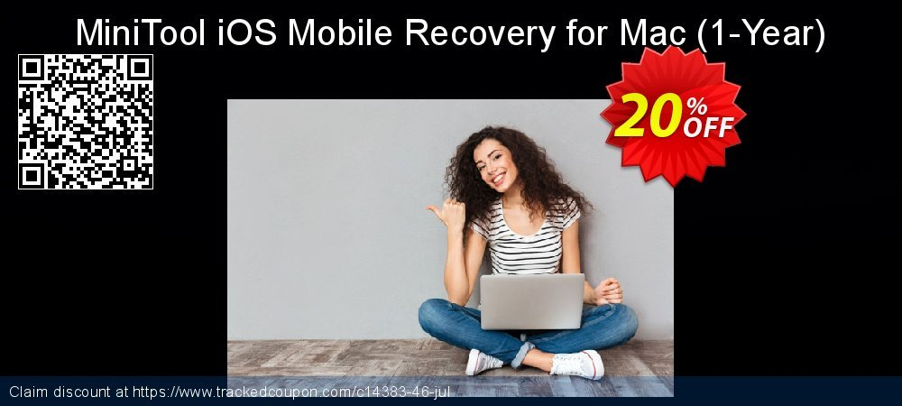MiniTool iOS Mobile Recovery for Mac - 1-Year  coupon on Mom Day offering sales