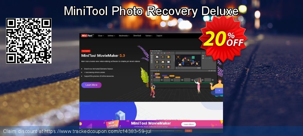 MiniTool Photo Recovery Deluxe coupon on Mothers Day sales