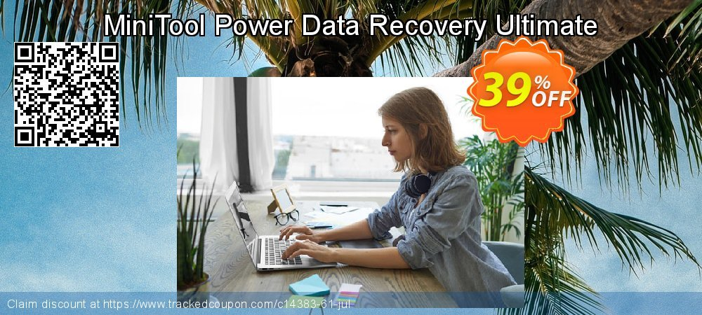 Claim 39% OFF MiniTool Power Data Recovery Ultimate Coupon discount June, 2021