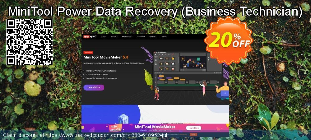 Get 20% OFF MiniTool Power Data Recovery - Business Technician offering sales