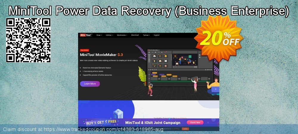 MiniTool Power Data Recovery - Business Enterprise  coupon on Mothers Day discount