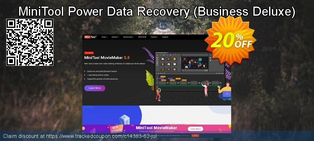 MiniTool Power Data Recovery - Business Deluxe  coupon on Mom Day discount