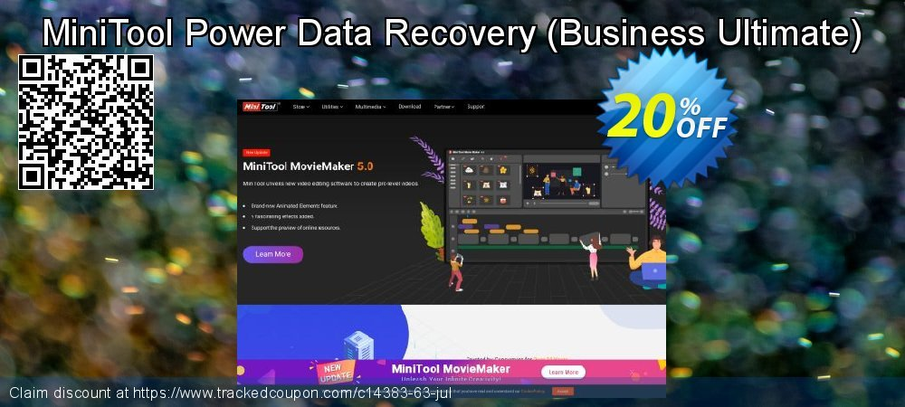 Claim 20% OFF MiniTool Power Data Recovery - Business Ultimate Coupon discount May, 2021