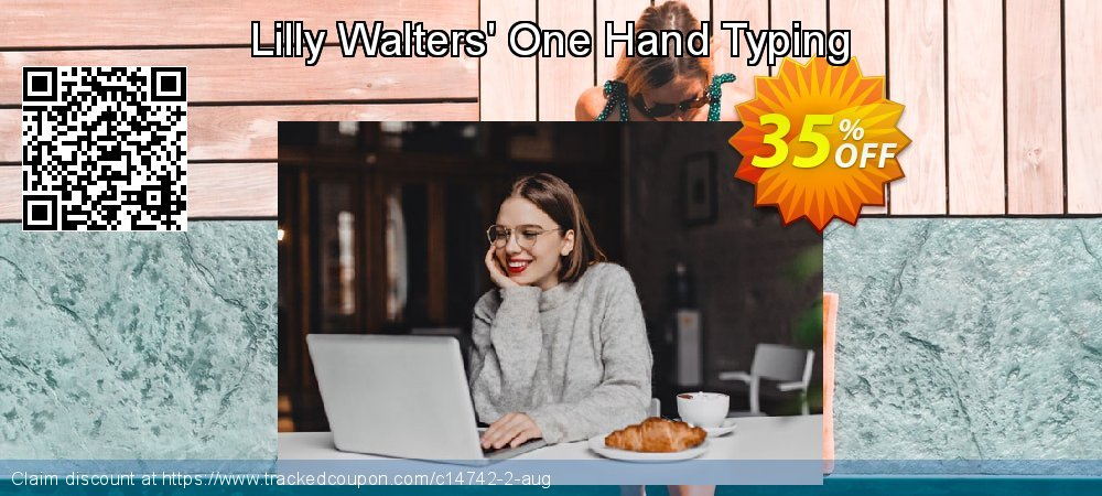 Get 35% OFF Lilly Walters' One Hand Typing offering discount