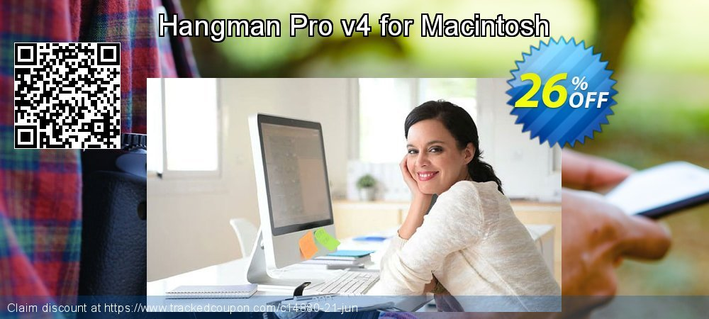 Hangman Pro v4 for Macintosh coupon on Back to School promotions offering discount