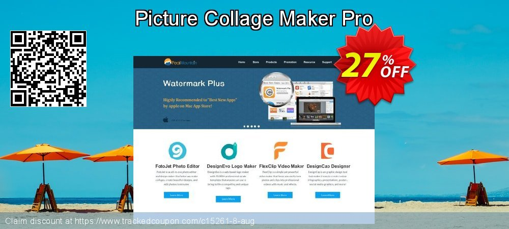 Get 26% OFF Picture Collage Maker Pro offering sales