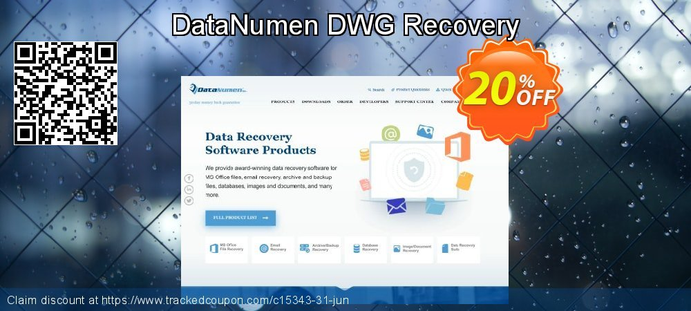DataNumen DWG Recovery coupon on Lunar New Year deals