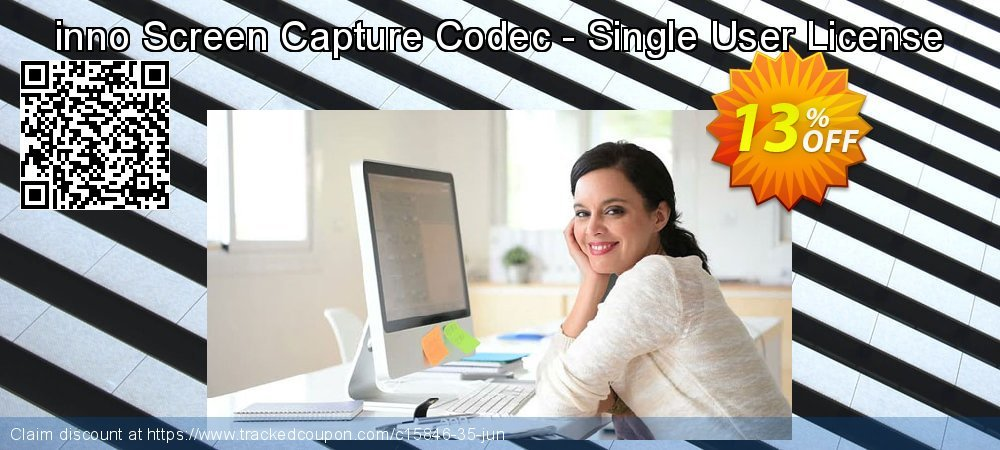 inno Screen Capture Codec - Single User License coupon on Black Friday offering sales