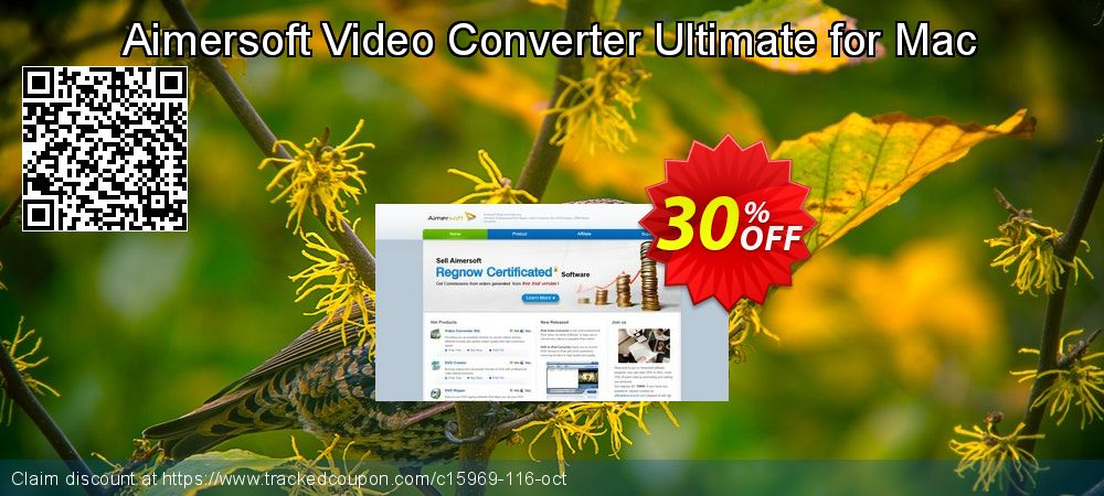 Aimersoft Video Converter Ultimate for Mac coupon on Thanksgiving offer