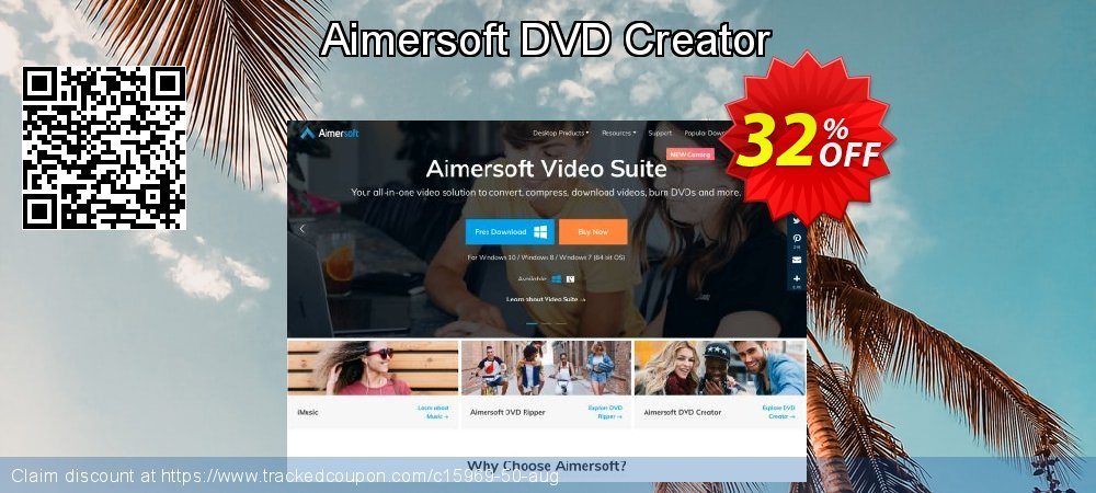 Aimersoft DVD Creator coupon on Int. Workers' Day discounts