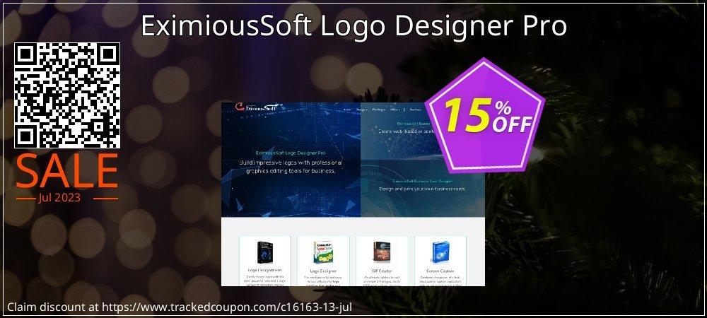 Get 15% OFF EximiousSoft Logo Designer Pro promo