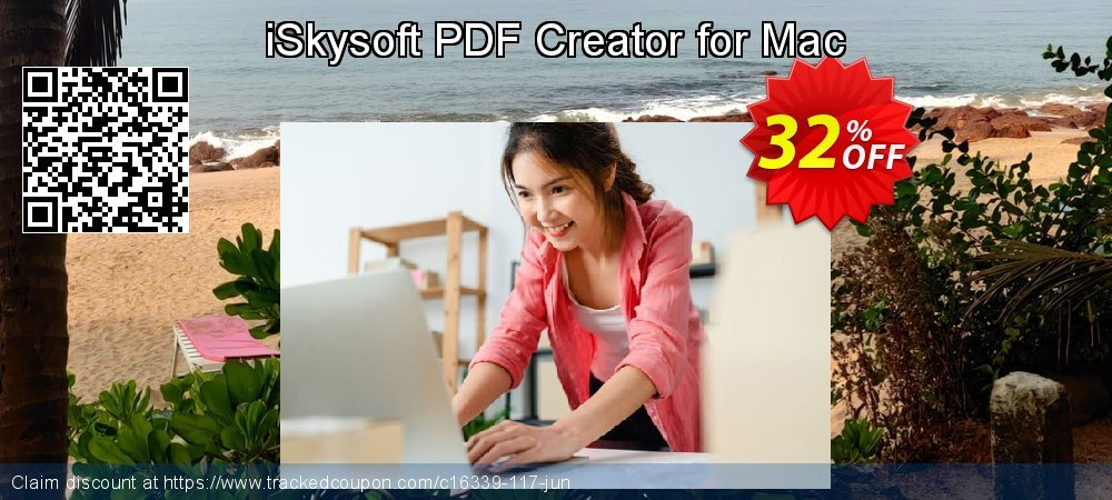 iSkysoft PDF Creator for Mac coupon on Back to School promotion deals
