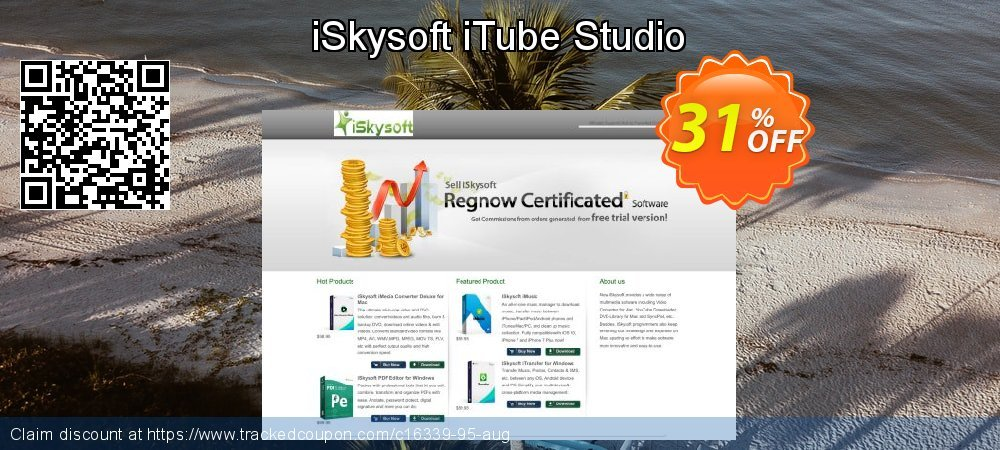 [30% OFF] iSkysoft iTube Studio Coupon on Teacher deals discounts,  September 2019