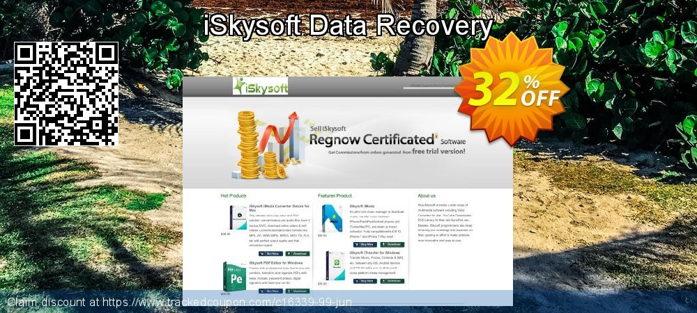 Claim 30% OFF iSkysoft Data Recovery Coupon discount July, 2019