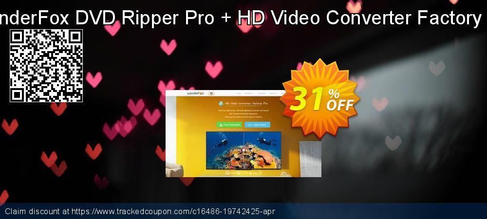 Get 73% OFF WonderFox DVD Ripper Pro + HD Video Converter Factory Pro promotions