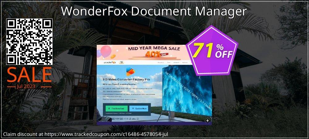 Get 70% OFF WonderFox Document Manager offering sales