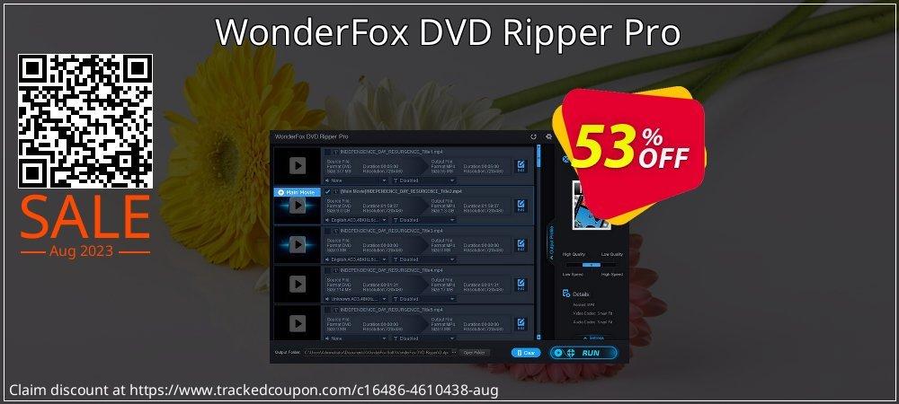 Get 50% OFF WonderFox DVD Ripper Pro offering deals