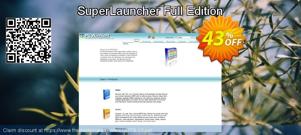 Get 40% OFF SuperLauncher Full Edition offering sales