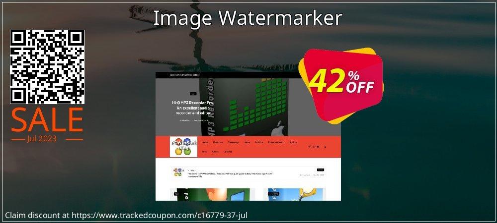 Get 40% OFF Image Watermarker offering sales