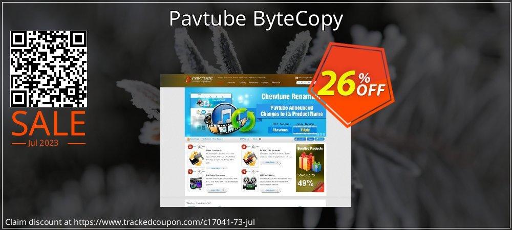 Get 25% OFF Pavtube ByteCopy promo