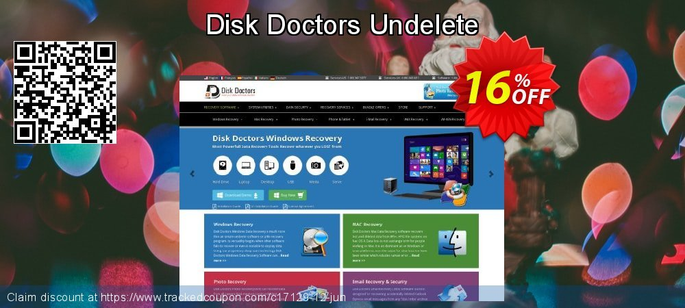Get 15% OFF Disk Doctors Undelete offering sales