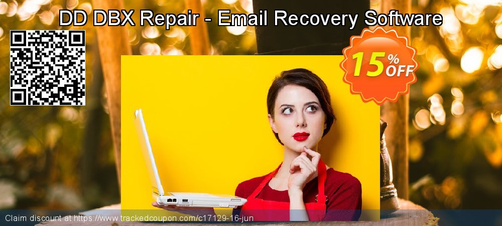 Get 15% OFF DD DBX Repair - Email Recovery Software offering sales